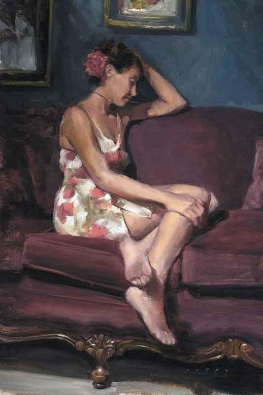 Crimson Daydream by  Julie Petro - Masterpiece Online