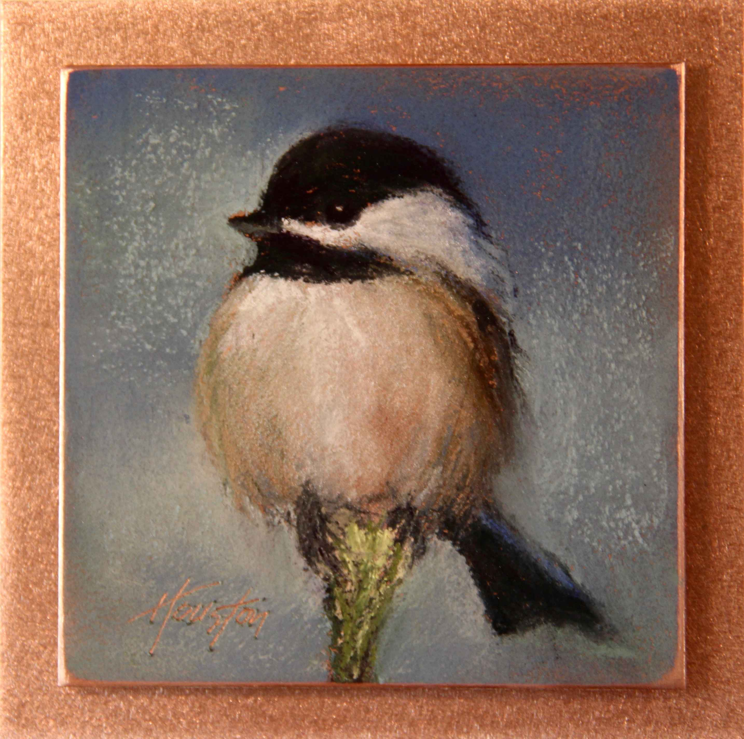 Chillin' Chickadee by  Amanda Houston - Masterpiece Online