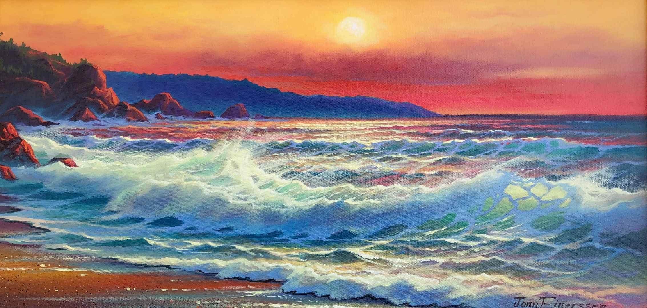 Late Breaker by  Jonn Einerssen - Masterpiece Online