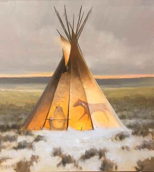 Winter Sage  by Mr. Mark Gibson