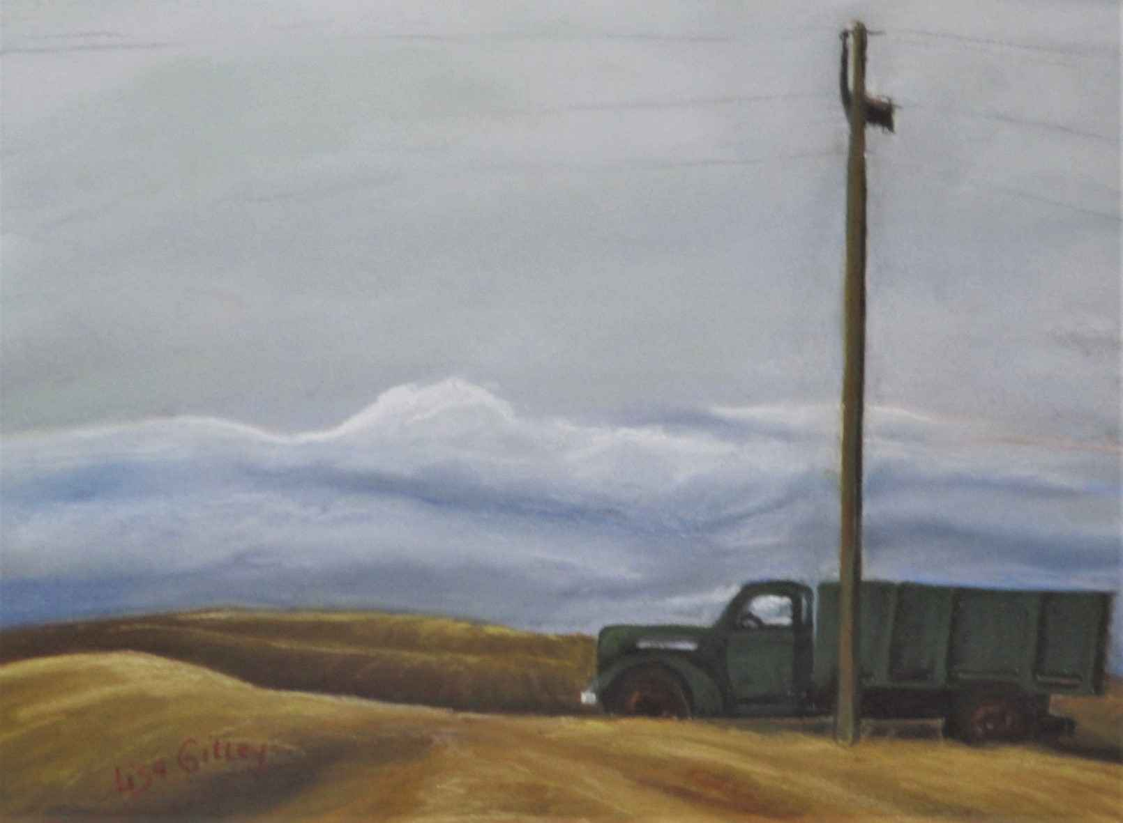 Todd O's Truck by  Lisa Gilley - Masterpiece Online