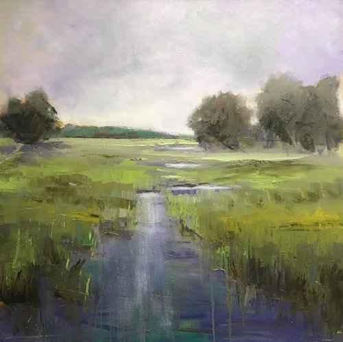 River Bending by  Kim Gibbs - Masterpiece Online