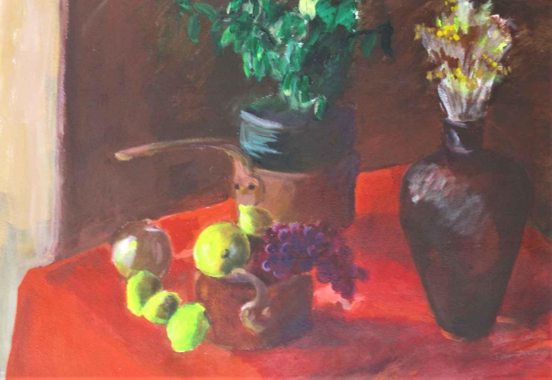 Still Life in Red by  Shirley Gittelsohn - Masterpiece Online