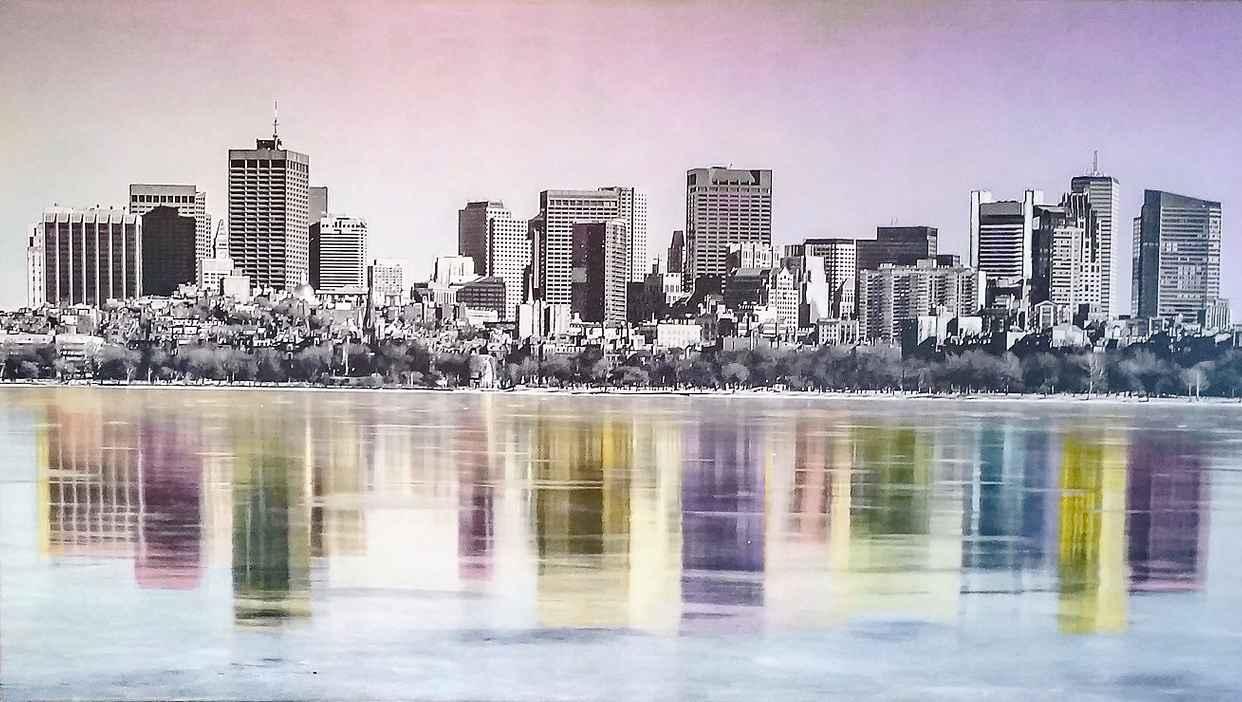 Boston Skyline by  Projet PHOTOPAINT - Masterpiece Online