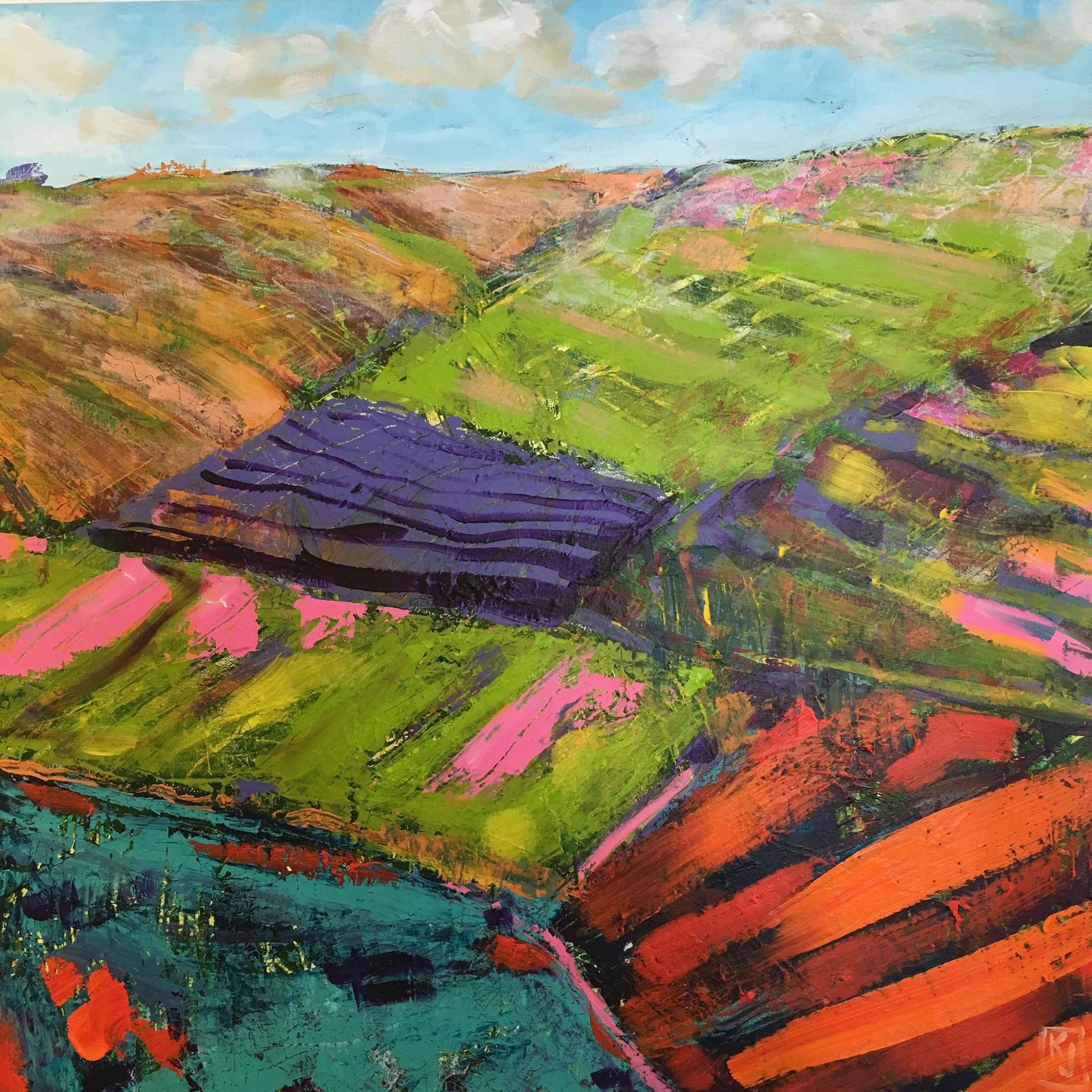 In The Hills by  Kaz Jones - Masterpiece Online