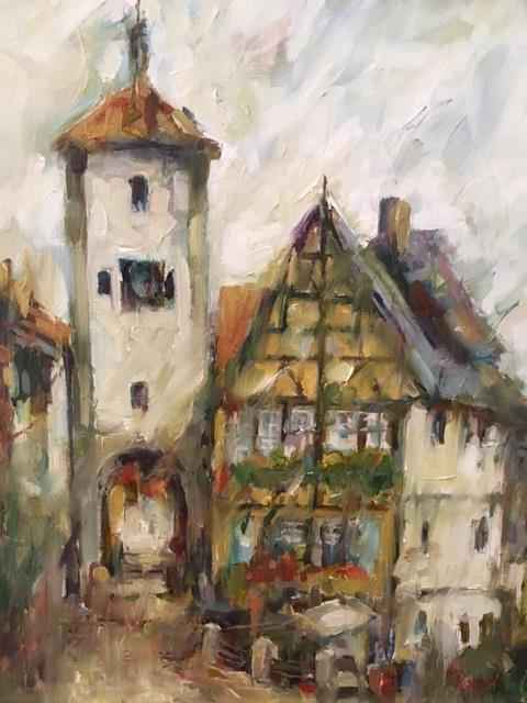 Rothenburg, Germany by  Patrick Romelli - Masterpiece Online
