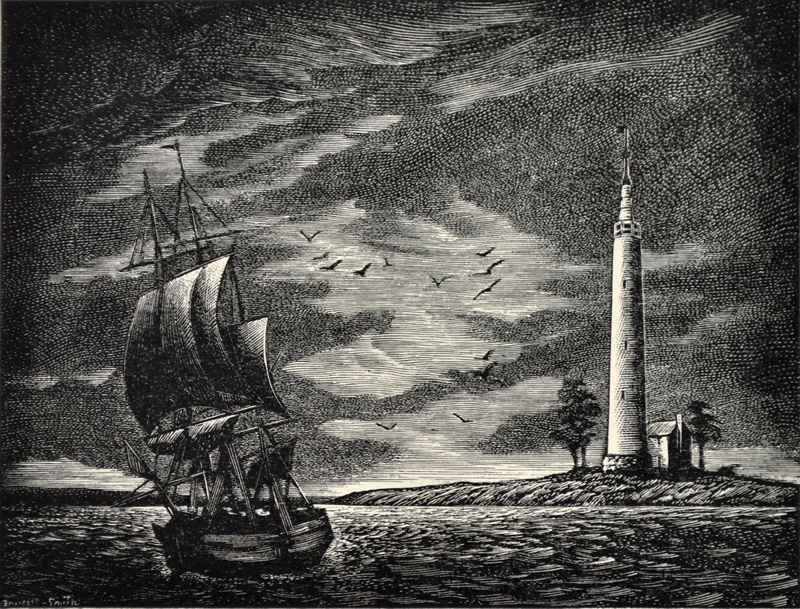 Lighthouse print 2 by  Bernard Brussel-Smith (1914-1989) - Masterpiece Online