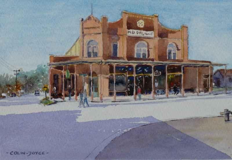 Antique Store, Gruene... by  Colin Joyce - Masterpiece Online