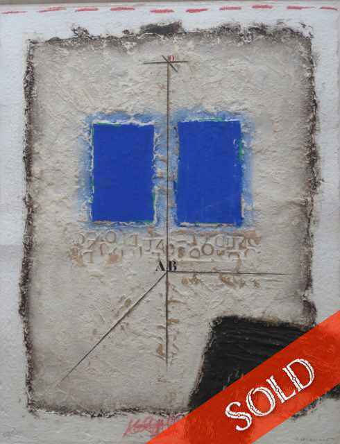 Abstract with handmad... by  James Coignard (1925-2008) - Masterpiece Online