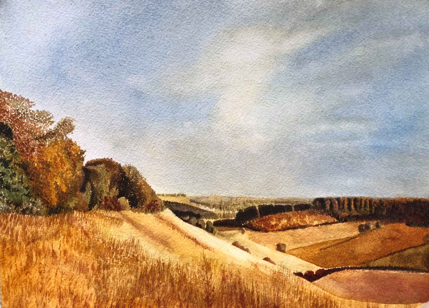 English Countryside by  Sherry Matlack - Masterpiece Online