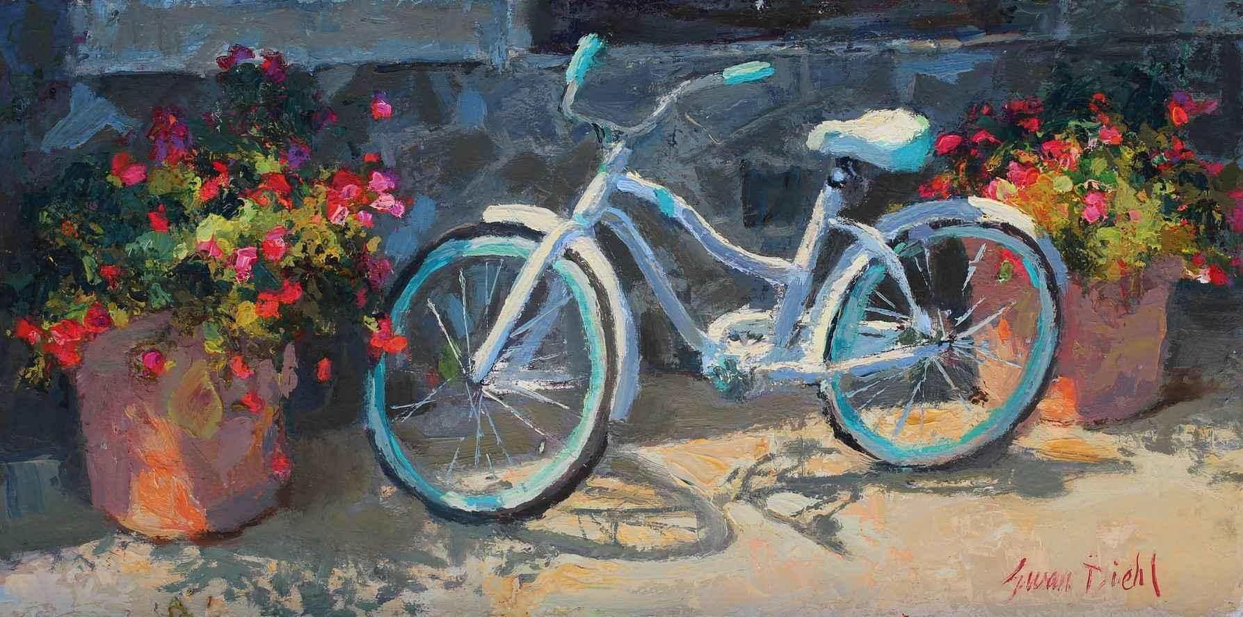 Flower Pedals by  Susan Diehl - Masterpiece Online