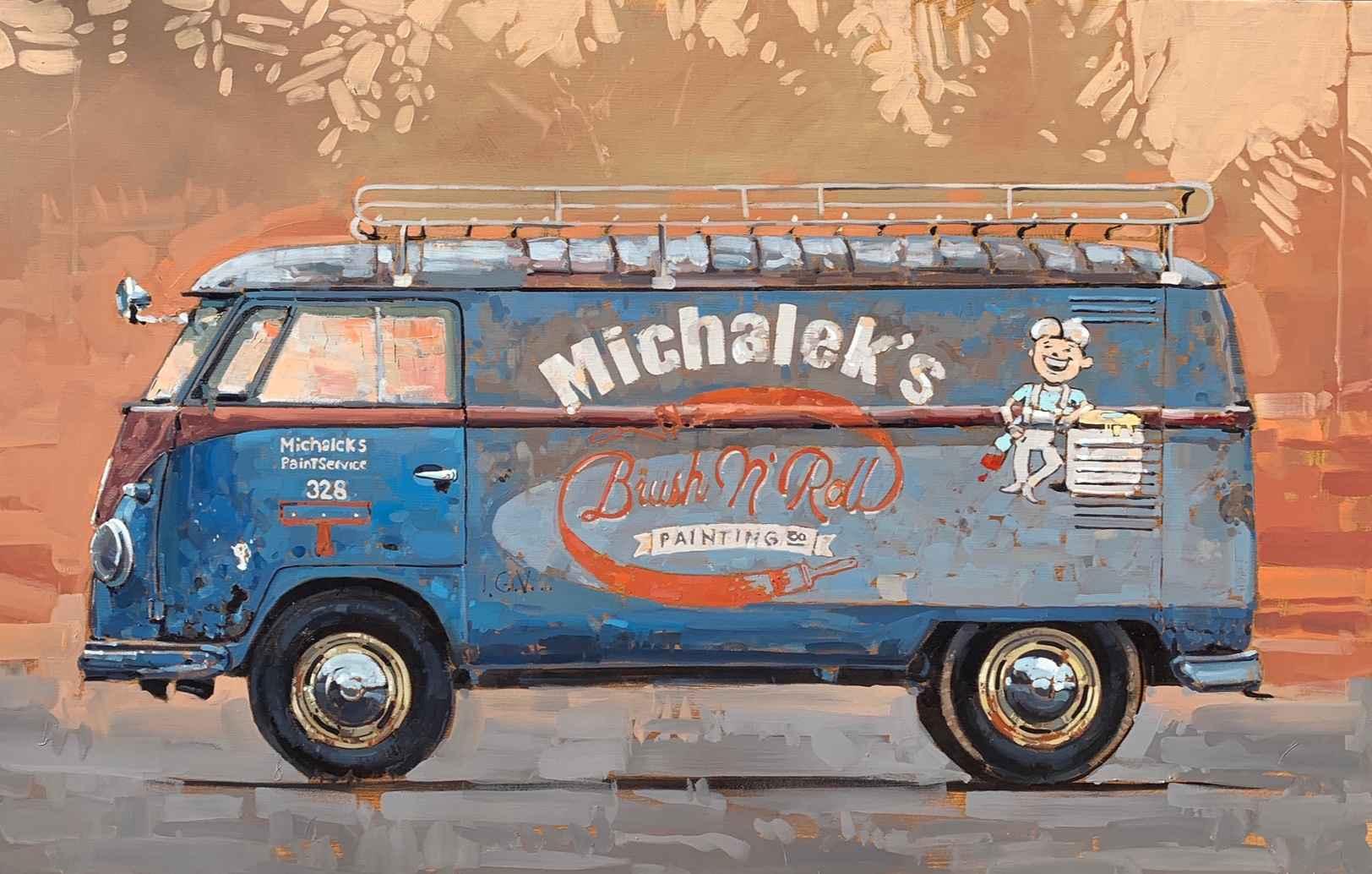 Michalek's Paint Serv... by Mr. Santiago Michalek - Masterpiece Online
