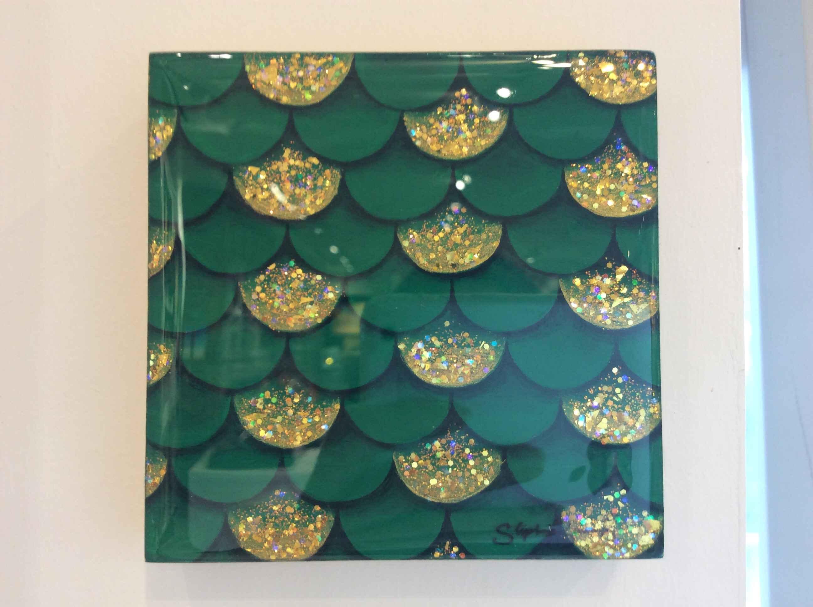 "SB - ""Dark Green"" Res... by  Stephanie Boinay - Masterpiece Online"