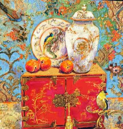 Chinese Chest and Son... by  Kate Steiger - Masterpiece Online