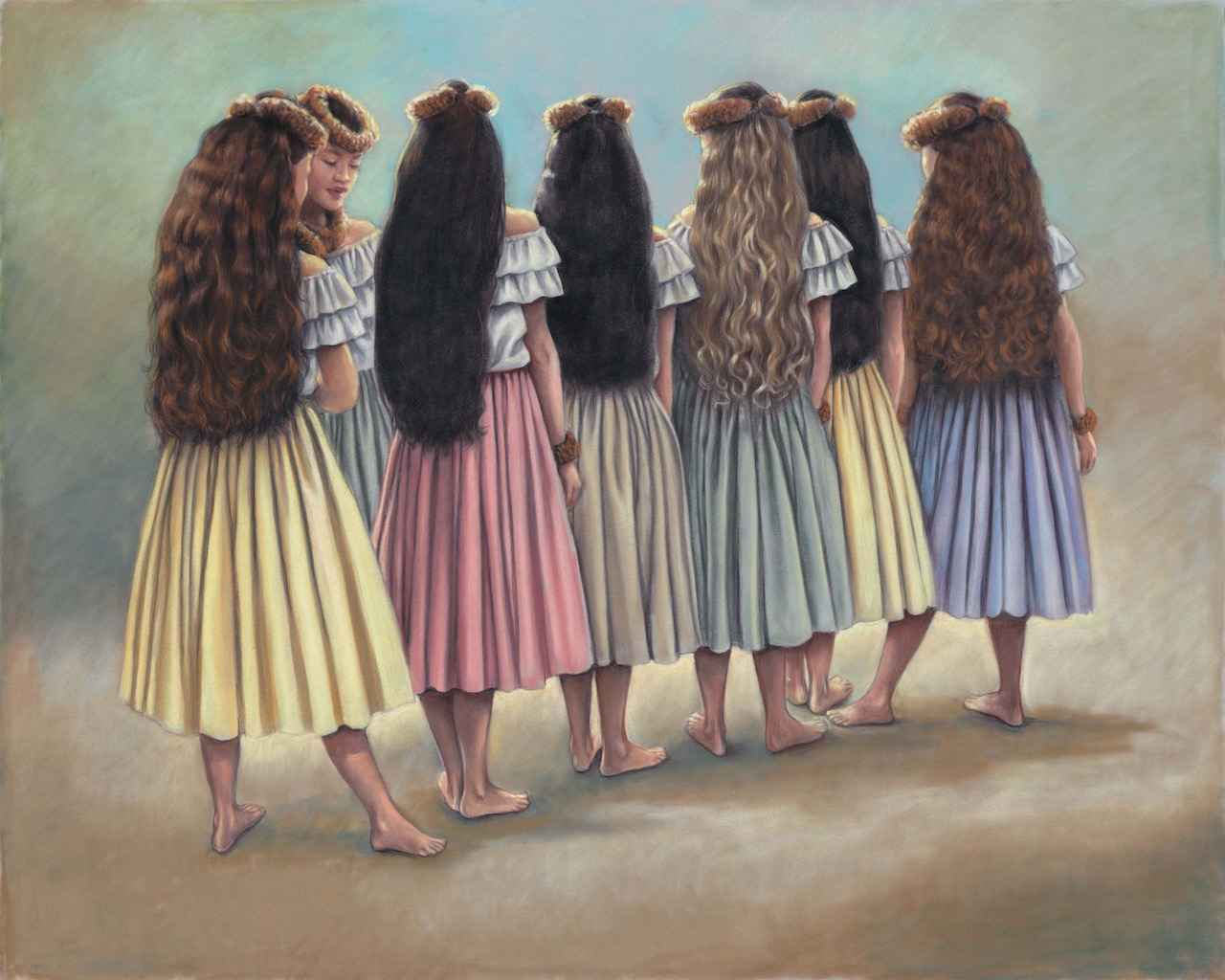 Hula Rainbow by Mrs. Kathy Long - Masterpiece Online