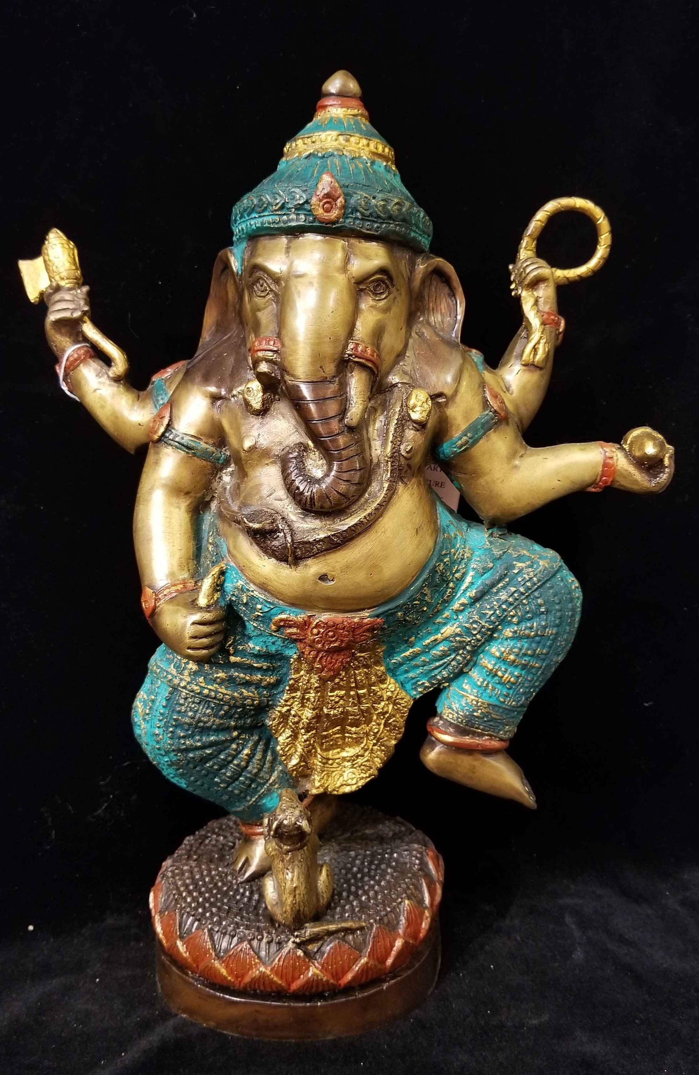 Ganesha Standing - Gr... by  Gallery Pieces - Masterpiece Online