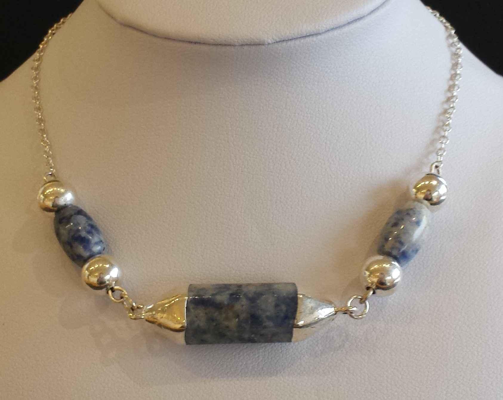 Lapis Lazuli Necklace by  Janet Hubbard - Masterpiece Online