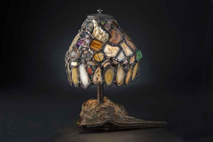 Small Agate Shade Lam... by  Jim Pape - Masterpiece Online