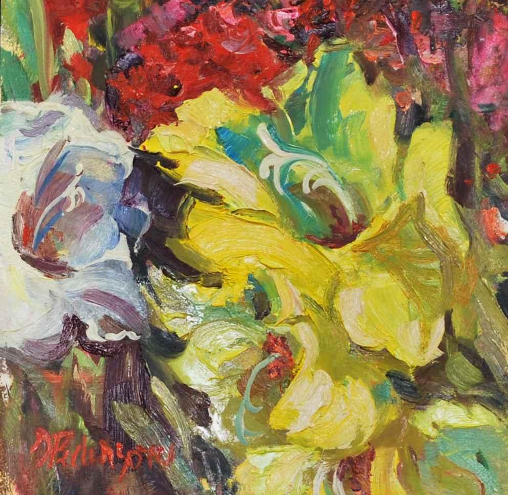 Tonja's Garden No. 2  by  Doloris Pederson