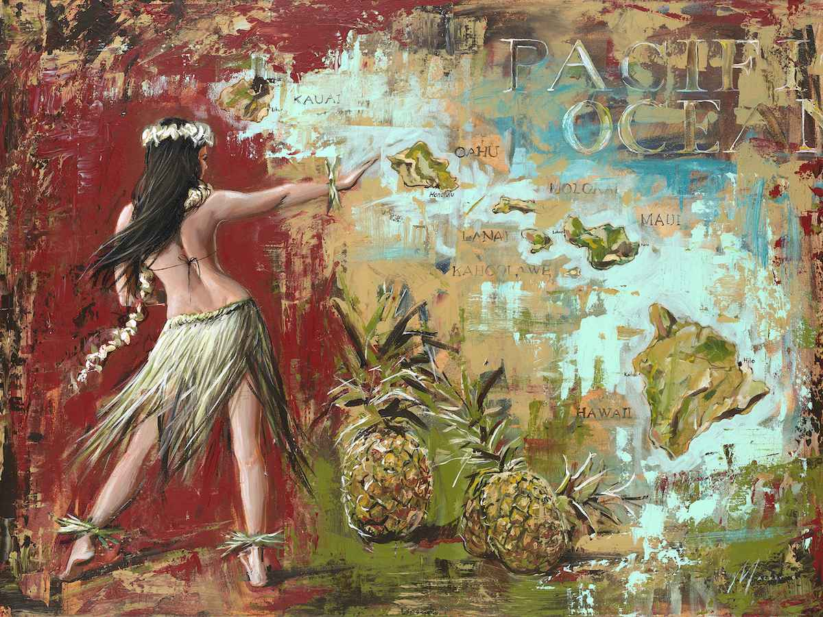 Island Dance by  Shawn Mackey - Masterpiece Online