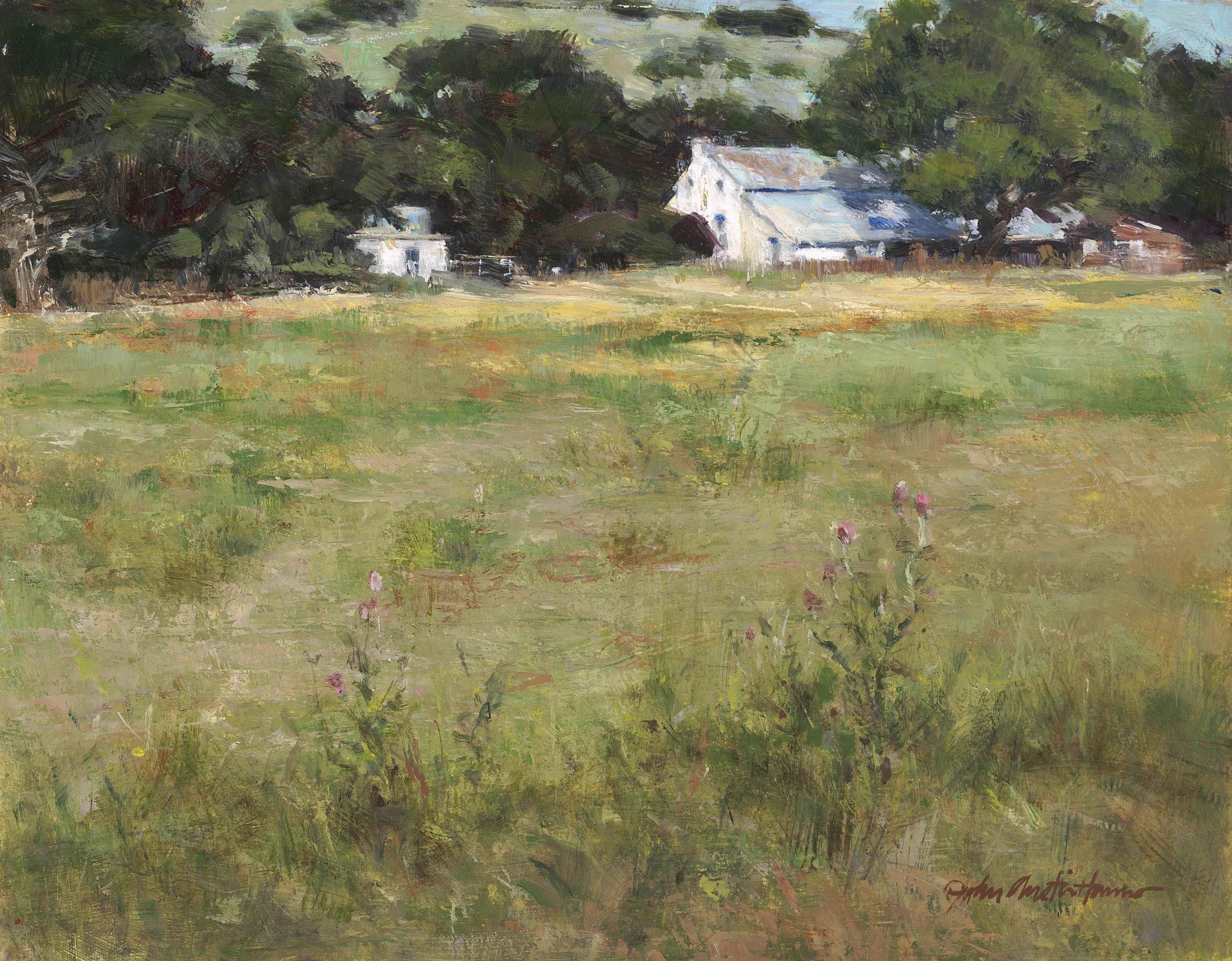 Summer II by  John Austin Hanna - Masterpiece Online
