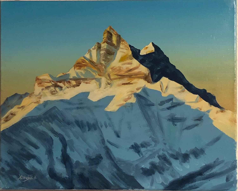 La Cigne de l'est by  Xavier L'HOSTE - Masterpiece Online