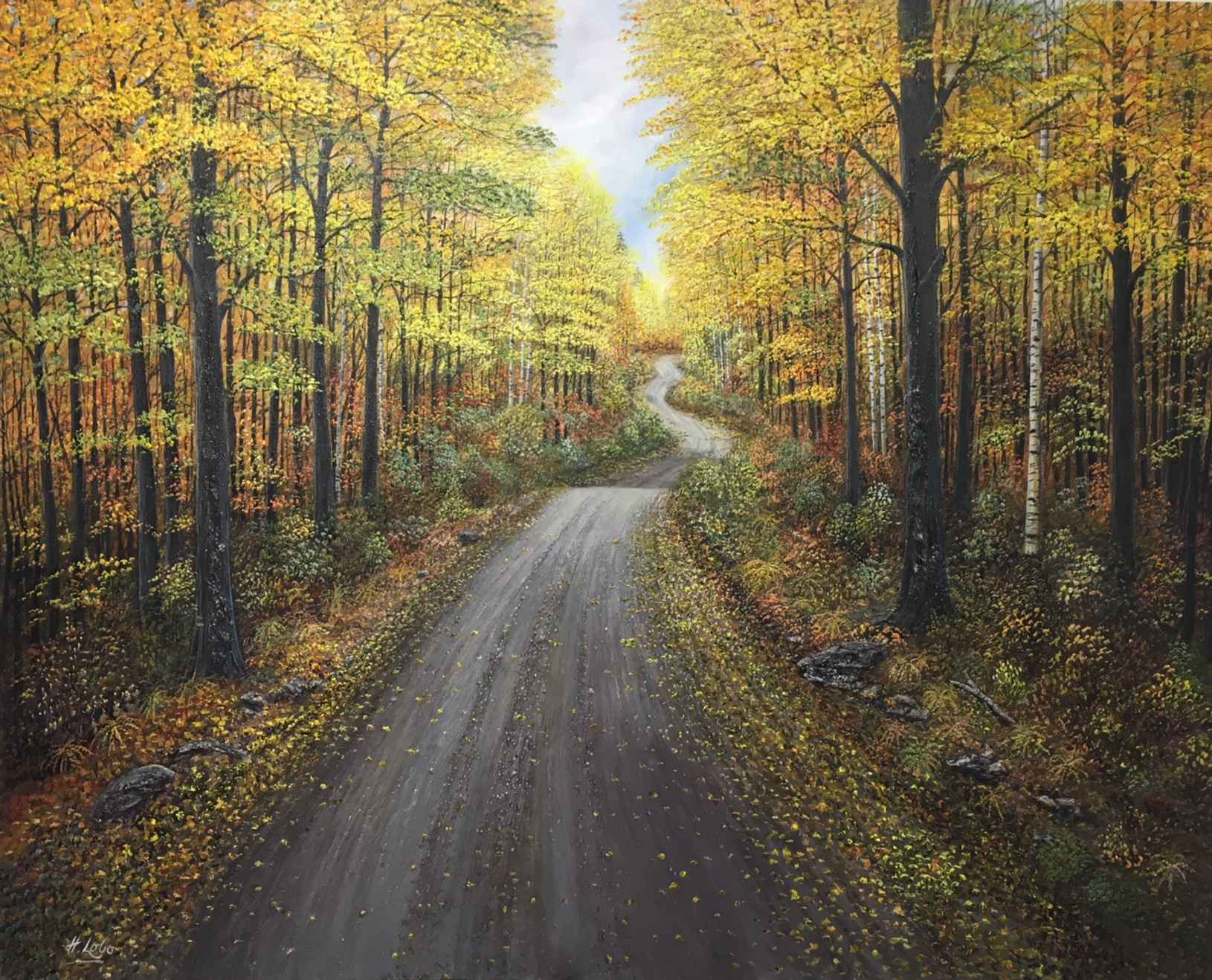 Ride Into the Forest by  Henry Lobo - Masterpiece Online
