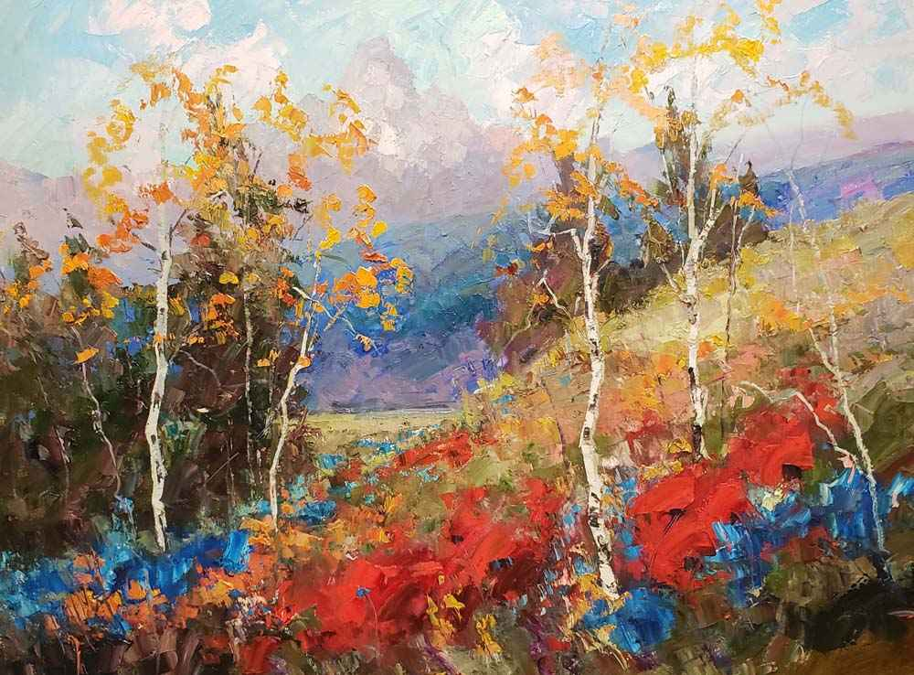 High Mountain Gratitu...  by  Troy Collins