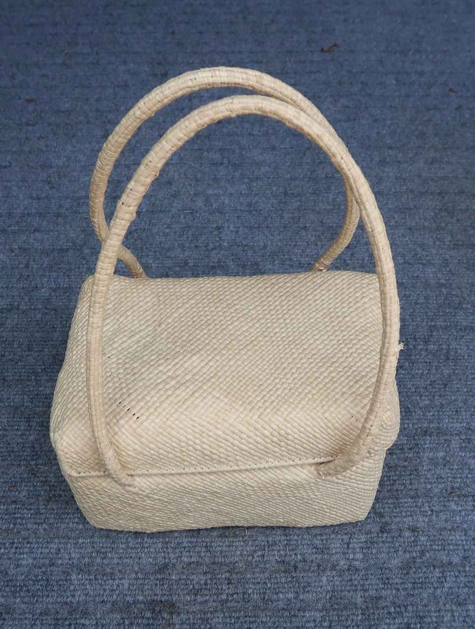 Woven Purse with two-... by   Unknown - Masterpiece Online