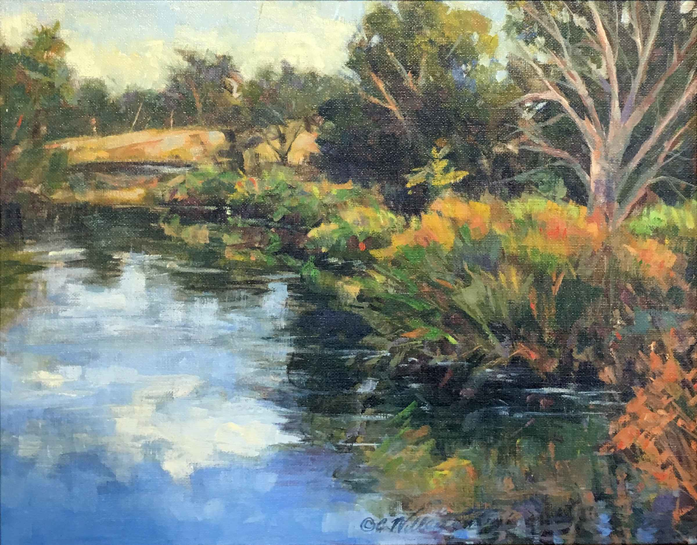 Brush Creek Sanctuary by  Chris Willey - Masterpiece Online