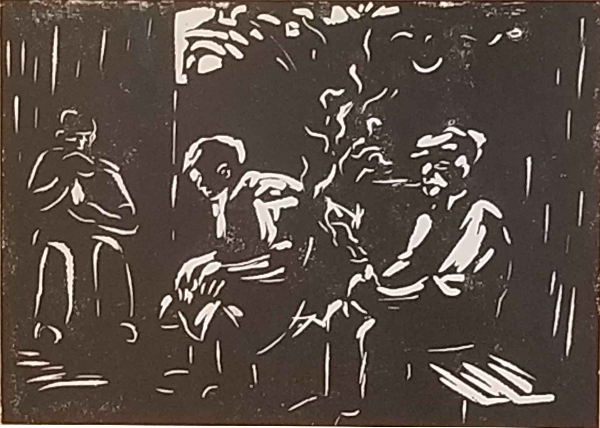 Untitled (Three Men S... by Mr. Schomer Lichtner - Masterpiece Online