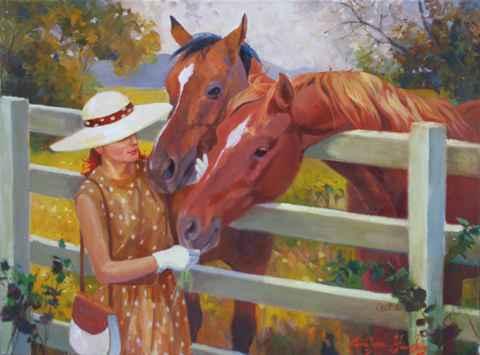 Pretty Woman  by  Carolyne Hawley