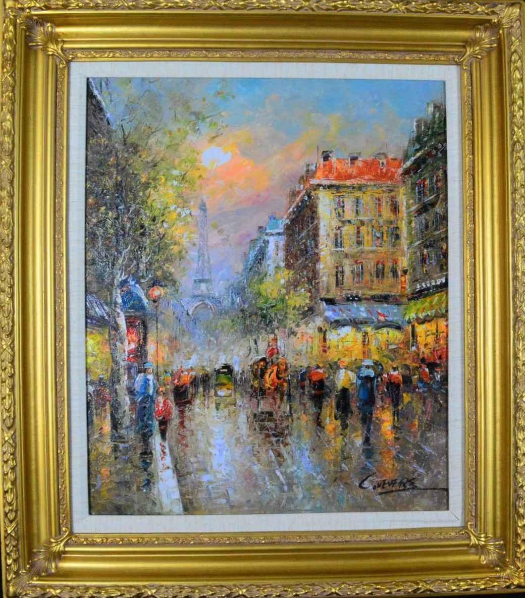 Old Paris Sunset