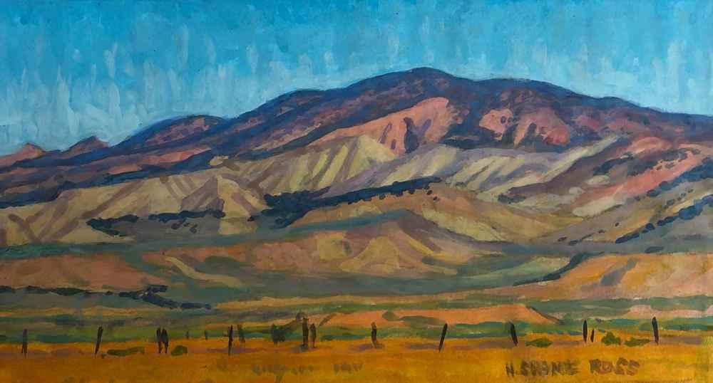Buckskin Hills Mid Day  by  H. Shane Ross