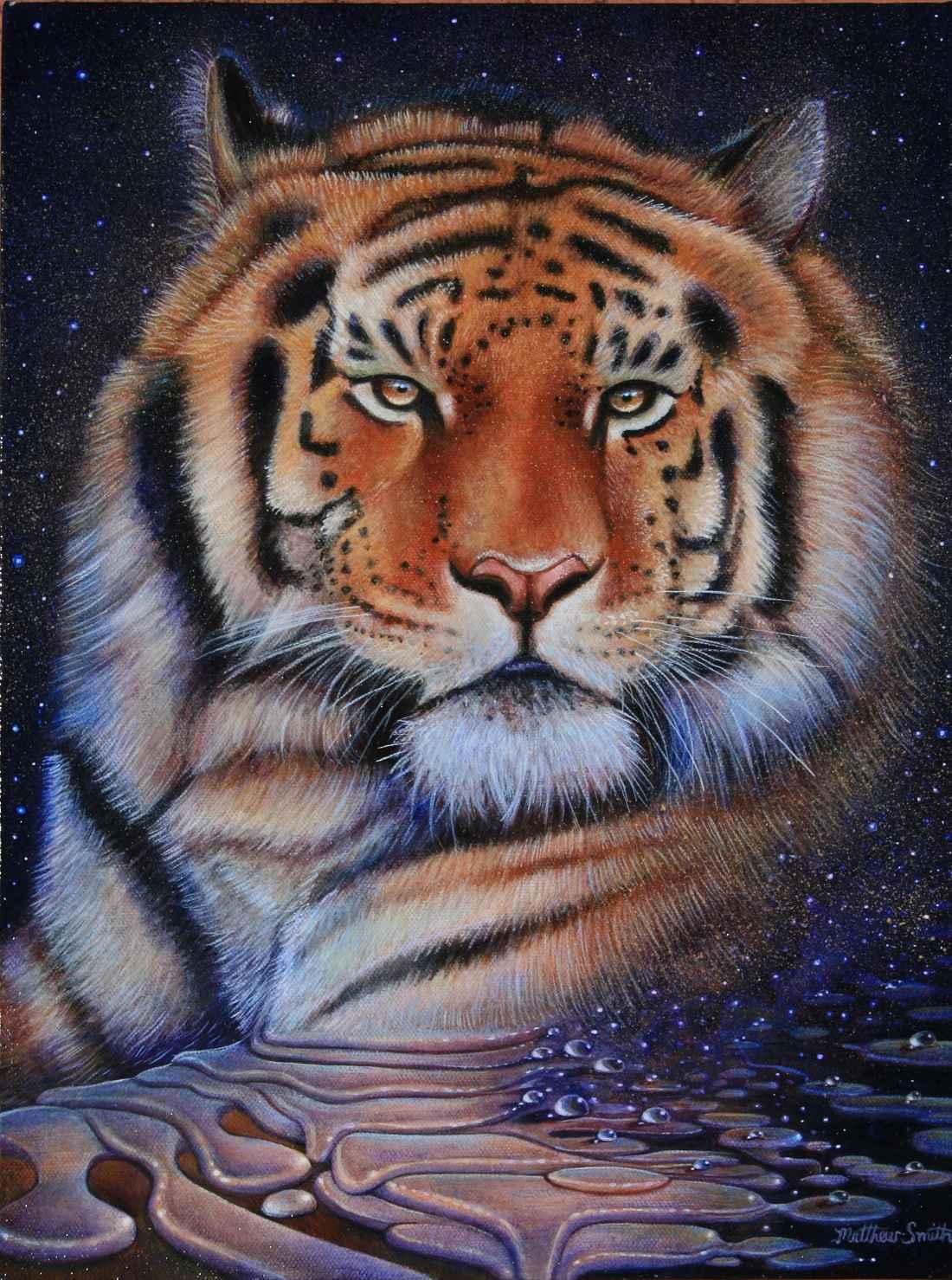 Melting Tiger by  Matthew Smith - Masterpiece Online