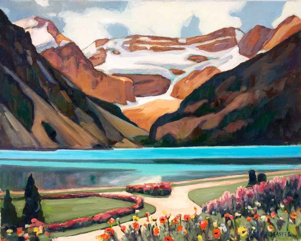 Lake Louise by  Denise Lemaster - Masterpiece Online
