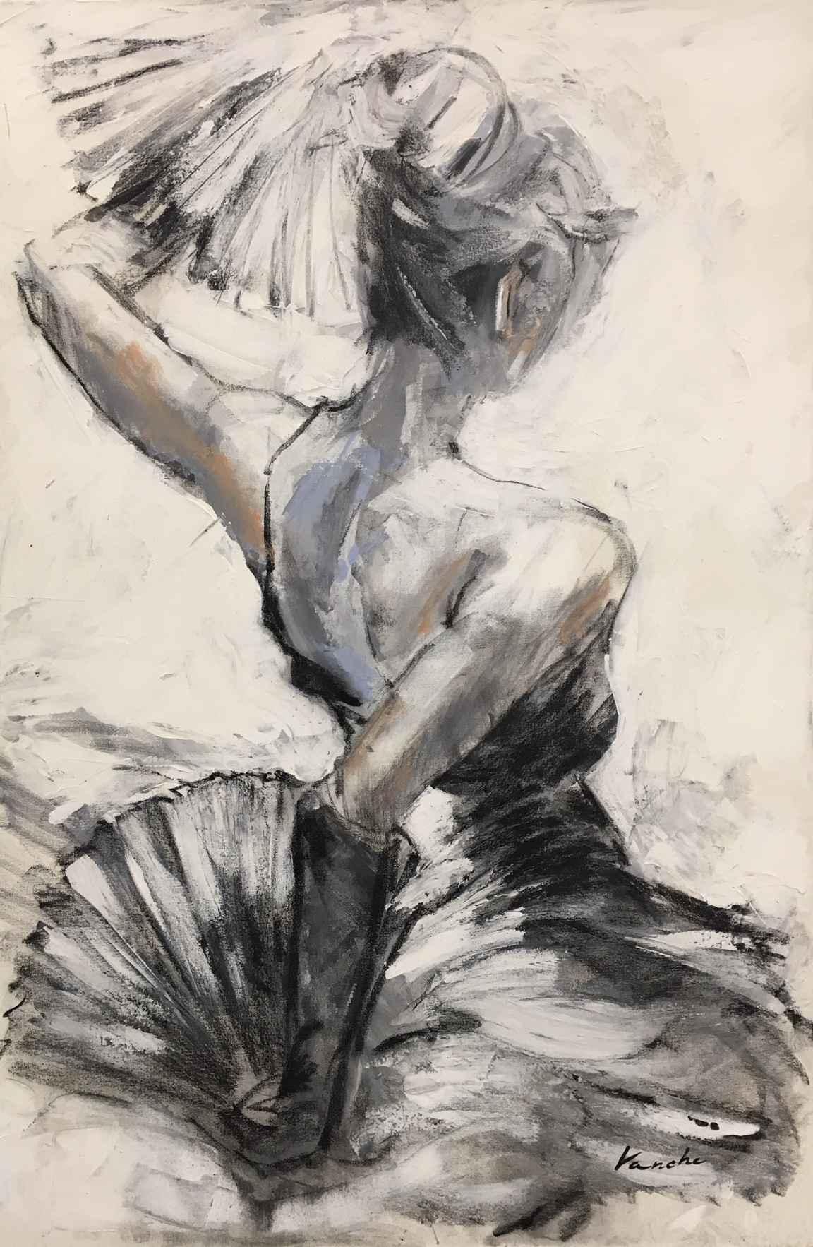 Dancing Fans by  Ivan Papazov-Vanche - Masterpiece Online