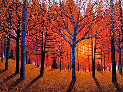 Maples & Cedars - DS ... by  Mark Berens - Masterpiece Online