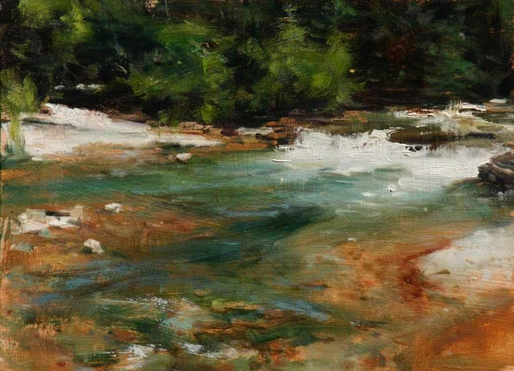 Falls at Hurley by  John Austin Hanna - Masterpiece Online