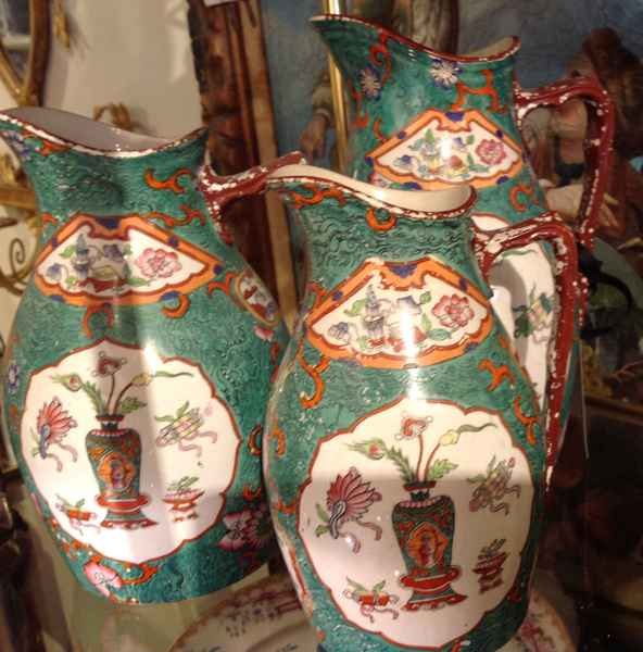 Set of 3 Pitchers by   English - Masterpiece Online