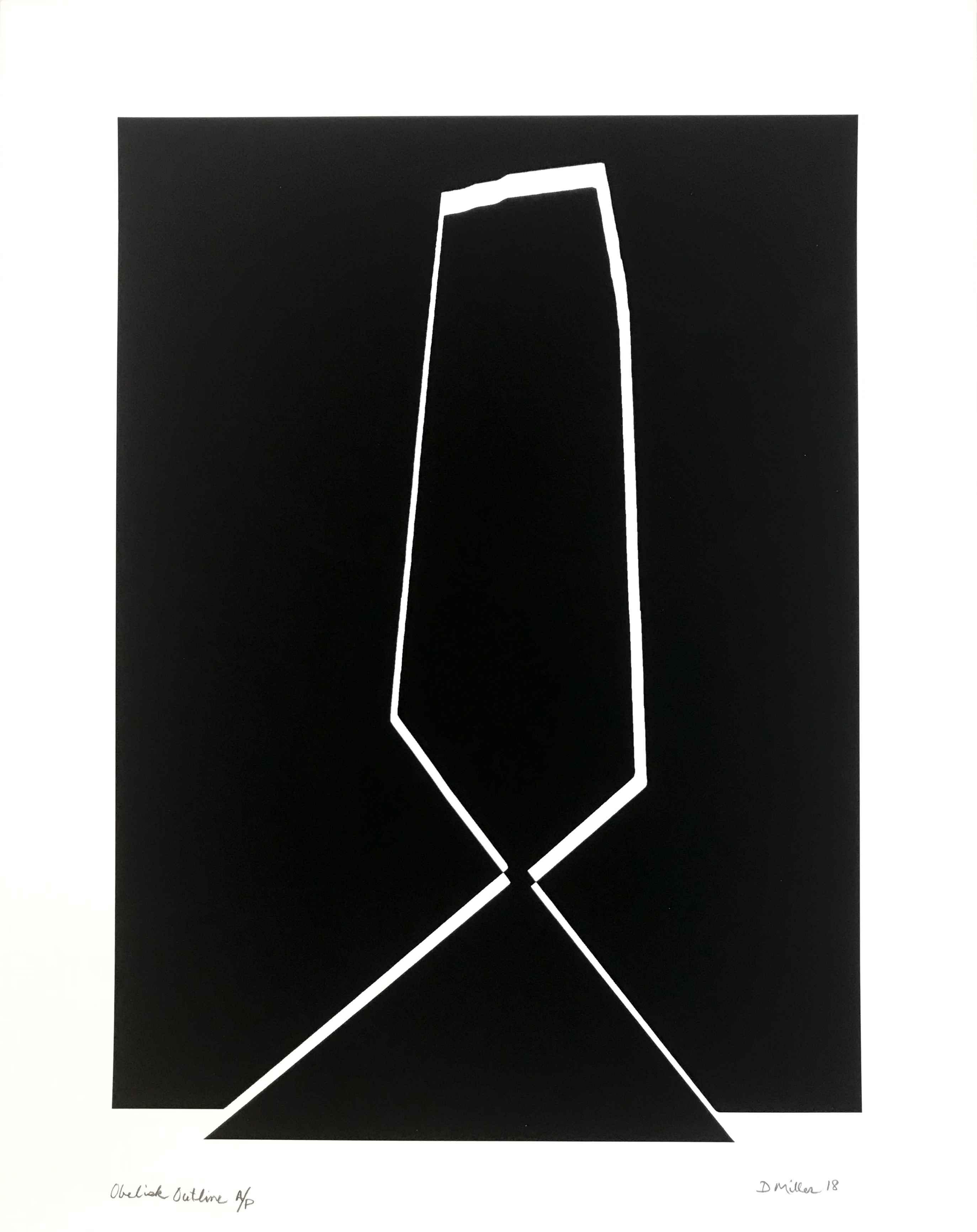 Obelisk Outline by  David Miller - Masterpiece Online