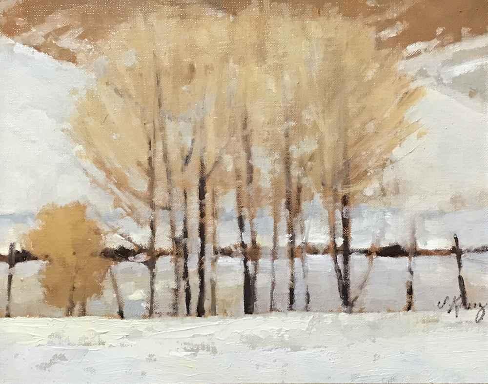 Valley Winter  by  Shanna Kunz