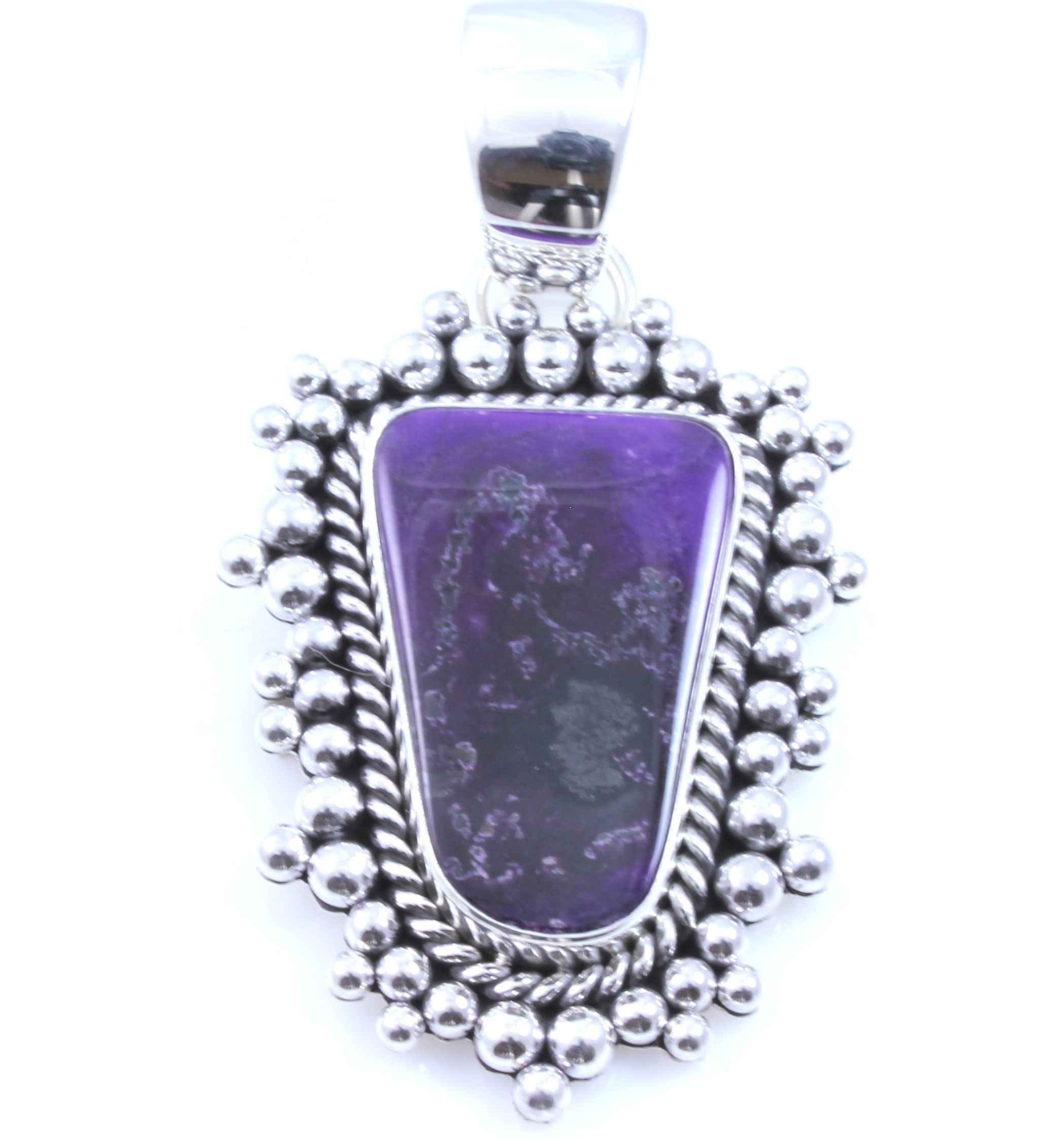 Sugilite pendant by artie yellowhorse sorrel sky gallery sugilite pendant by artie yellowhorse aloadofball Images