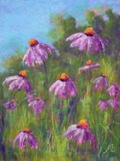 Purple Coneflower by  Anna L. Finnerty - Masterpiece Online