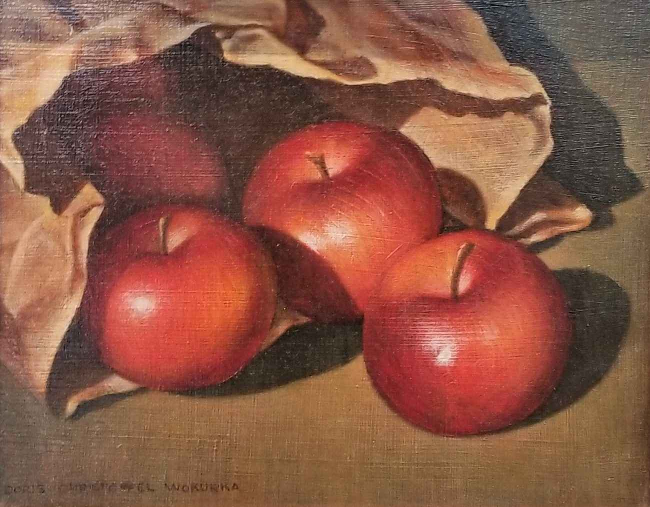 Untitled (Red Apples ... by Ms. Doris Wokurka - Masterpiece Online