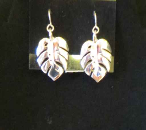 Monstera Earrings by Capt. Thomas Eimer - Masterpiece Online