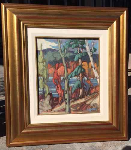Lac Perchaude by  Gaston Rebry - Masterpiece Online