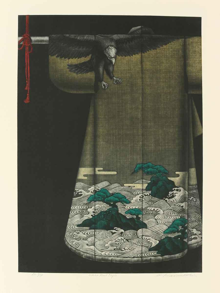 White Head Eagle by  Katsunori Hamanishi - Masterpiece Online