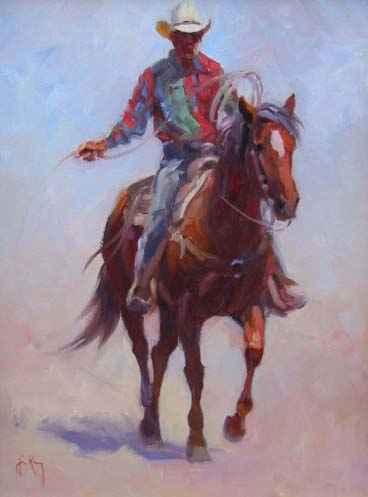 The Cow Poke by Mr. & Mrs. Jim Rey - Masterpiece Online