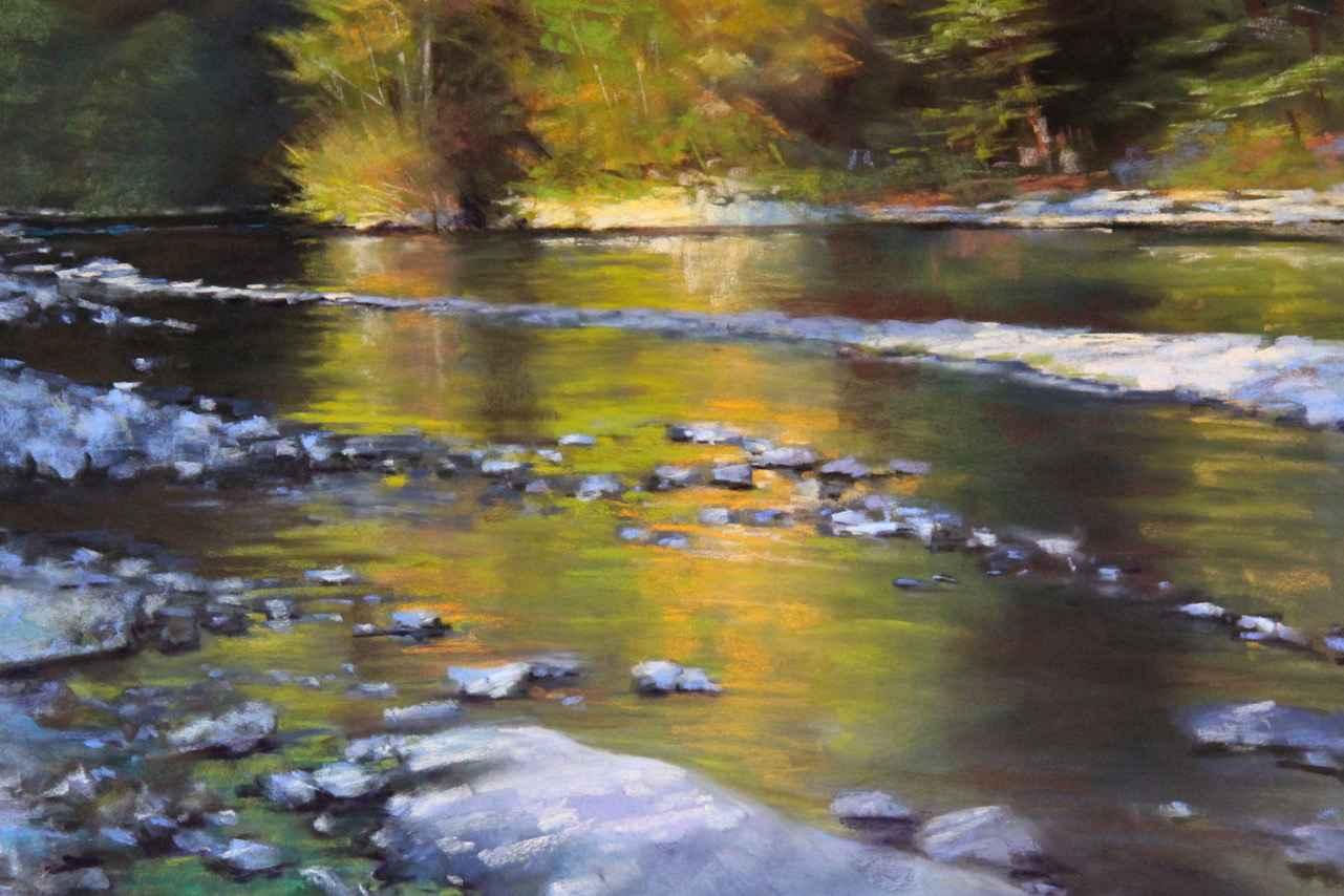 Reflective Stream by  Amanda Houston - Masterpiece Online